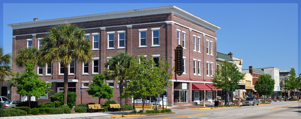 Beautiful historic building in the middle of downtown Deland.